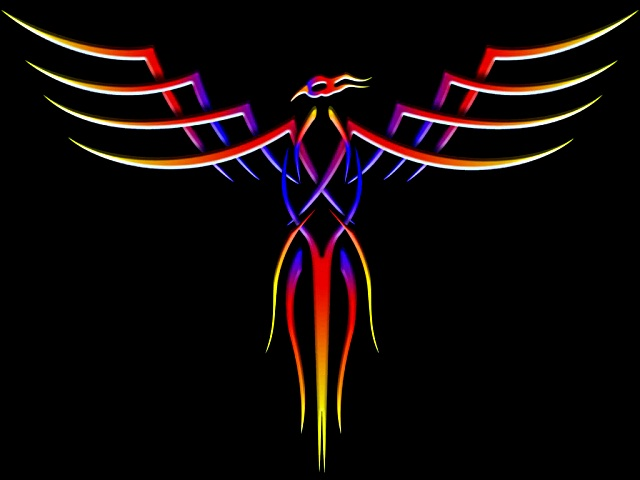 Phoenix Desktop Wallpaper by toddboy2001 640x480