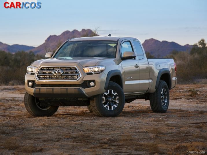 2016 Toyota Tacoma TRD Off Road   Front Wallpaper 48 iPad 716x537