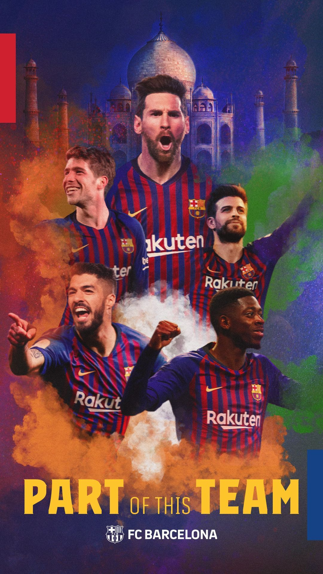 Bara Fans   Wallpapers Official FC Barcelona Website 1080x1920