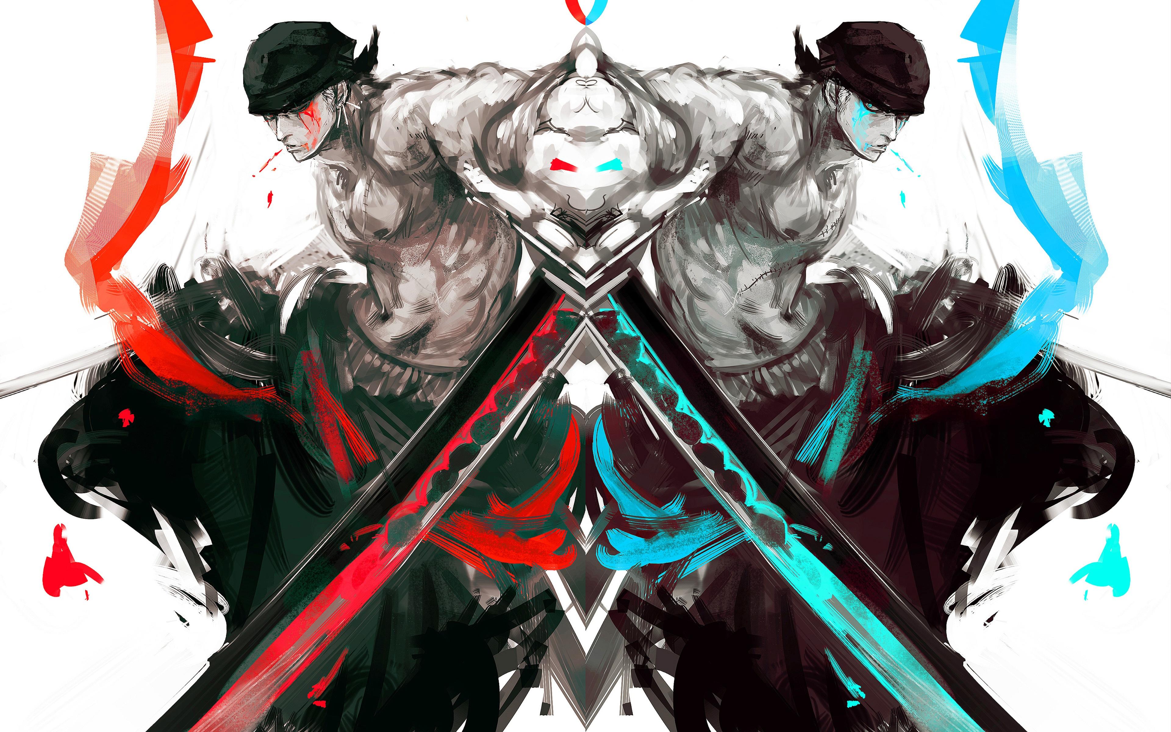 Zoro Roronoa HD Wallpapers 3840x2400