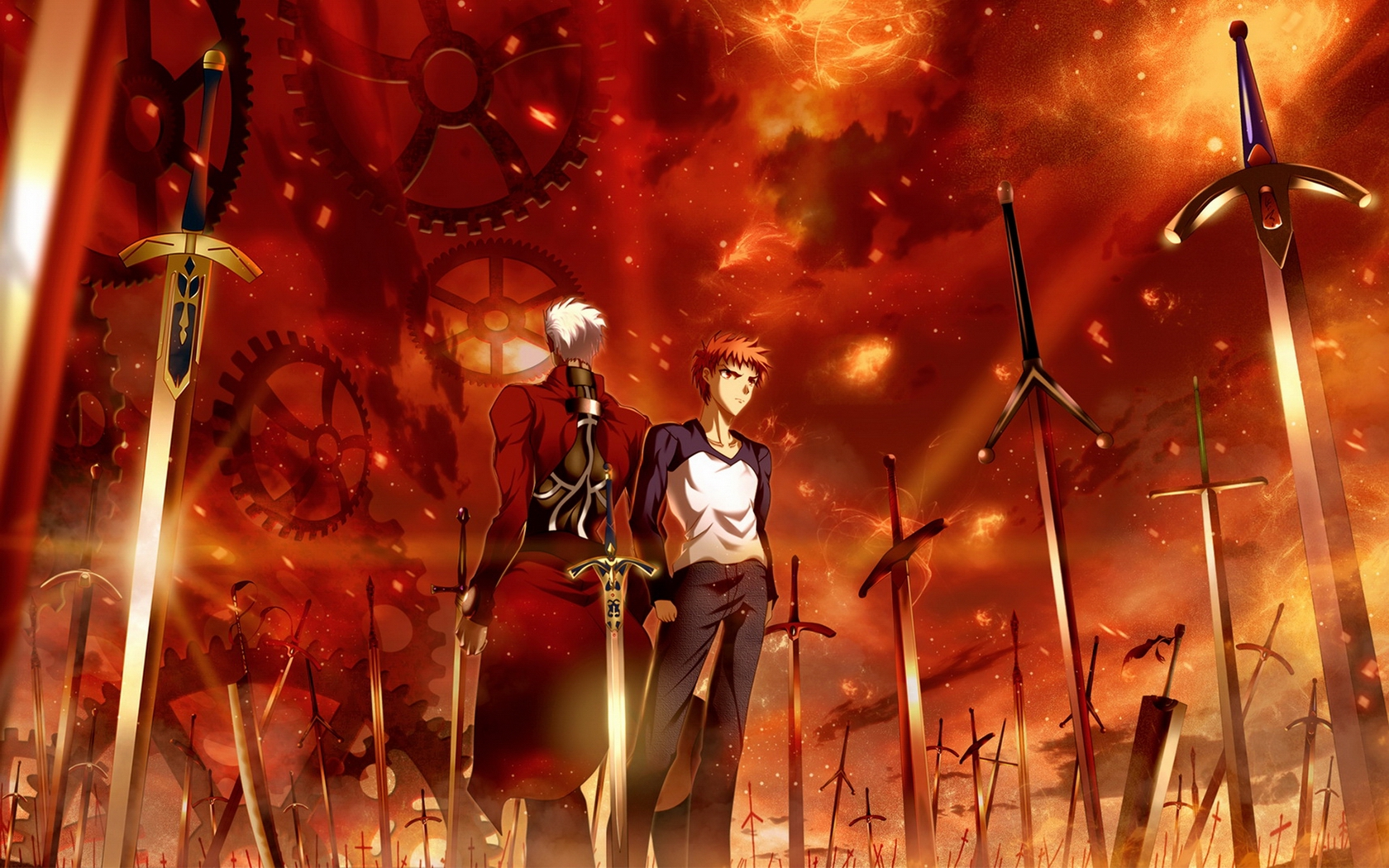 44 FateStay Night Unlimited Blade Works HD Wallpapers Backgrounds 1680x1050