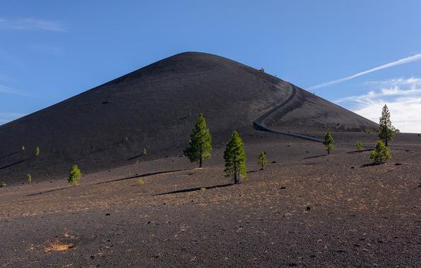 Wallpaper lassen volcanic national park sky nature wallpapers 596x380