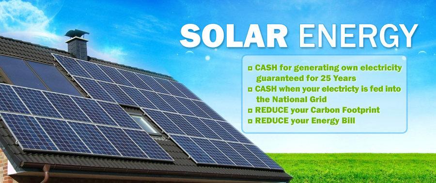 Solar Panel Wallpaper Solar panel banner by makigud 900x377
