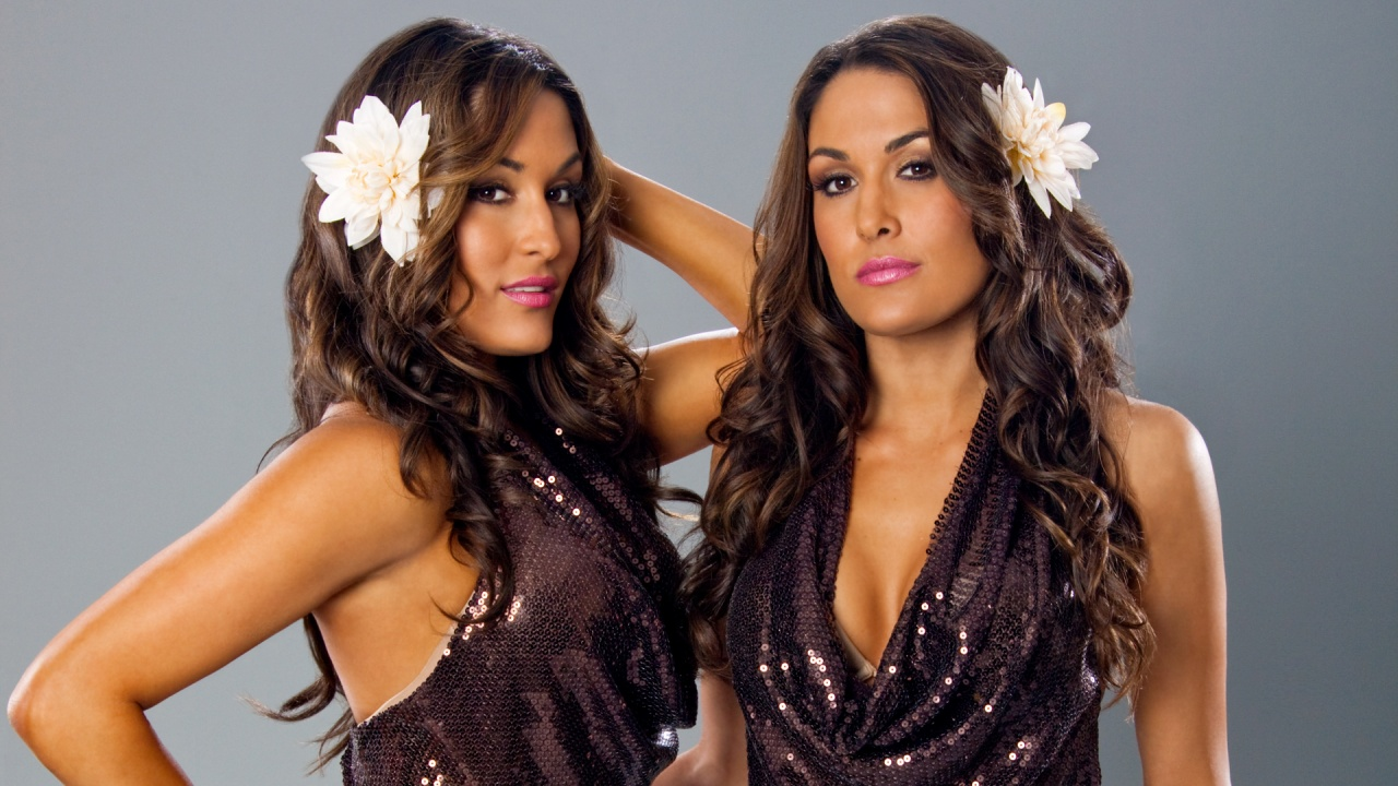 Brie Bella and Nikki Bella Wallpaper Hd 1280x720