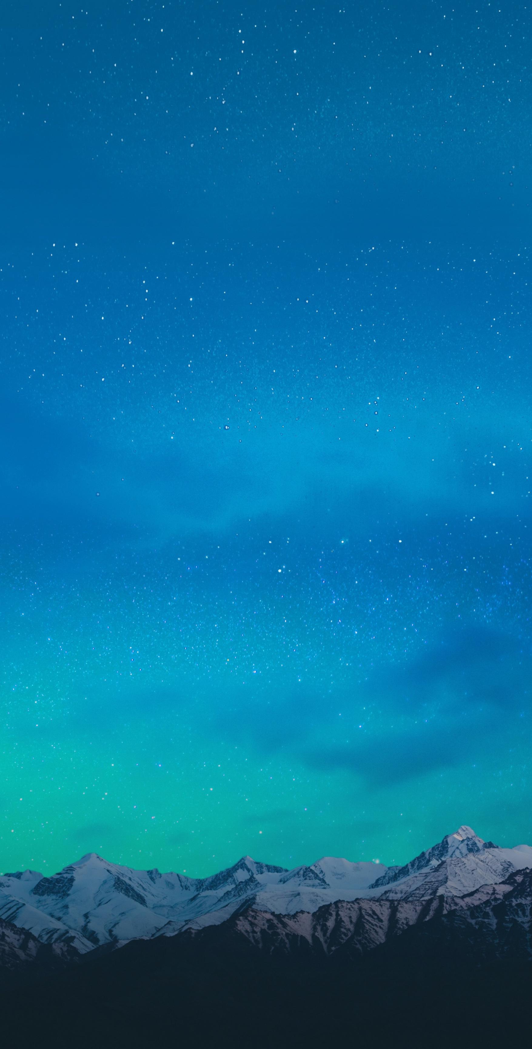Mountain aqua wallpaper galaxy tranquil beauty 1755x3455