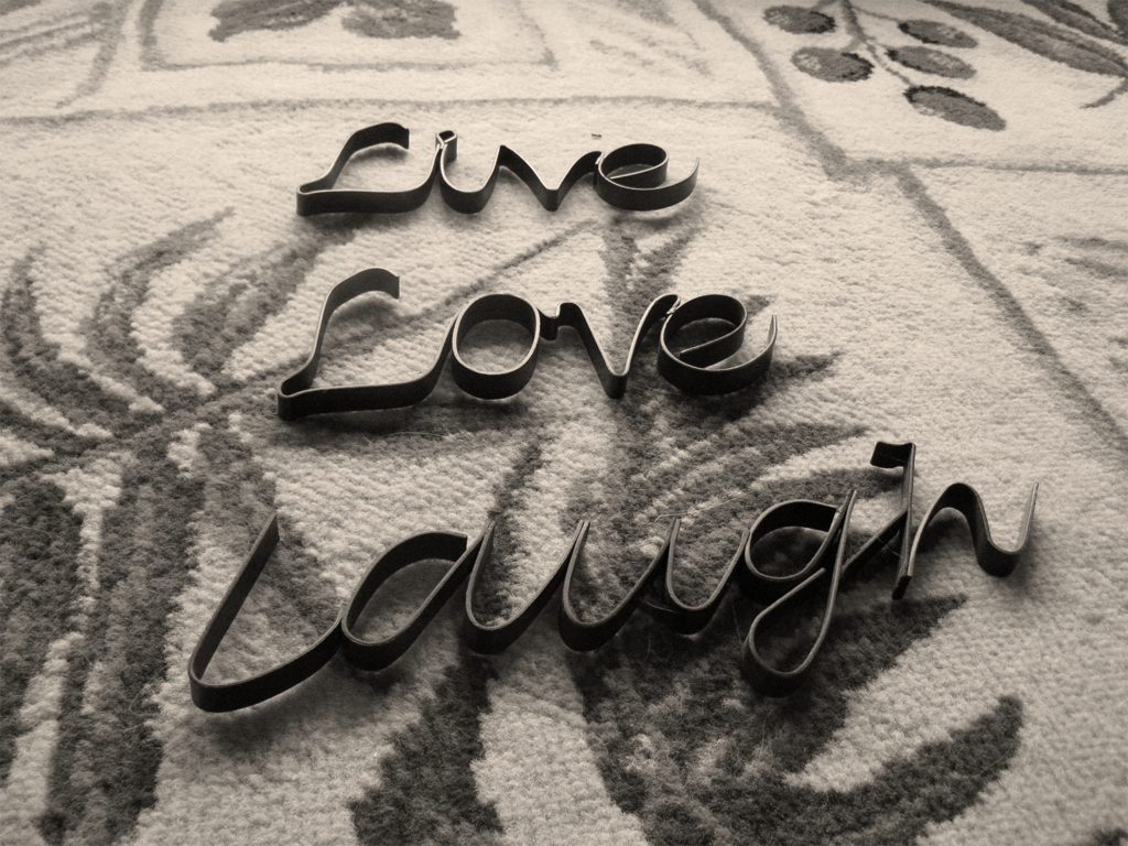 Live Laugh Love Desktop Wallpaper - WallpaperSafari