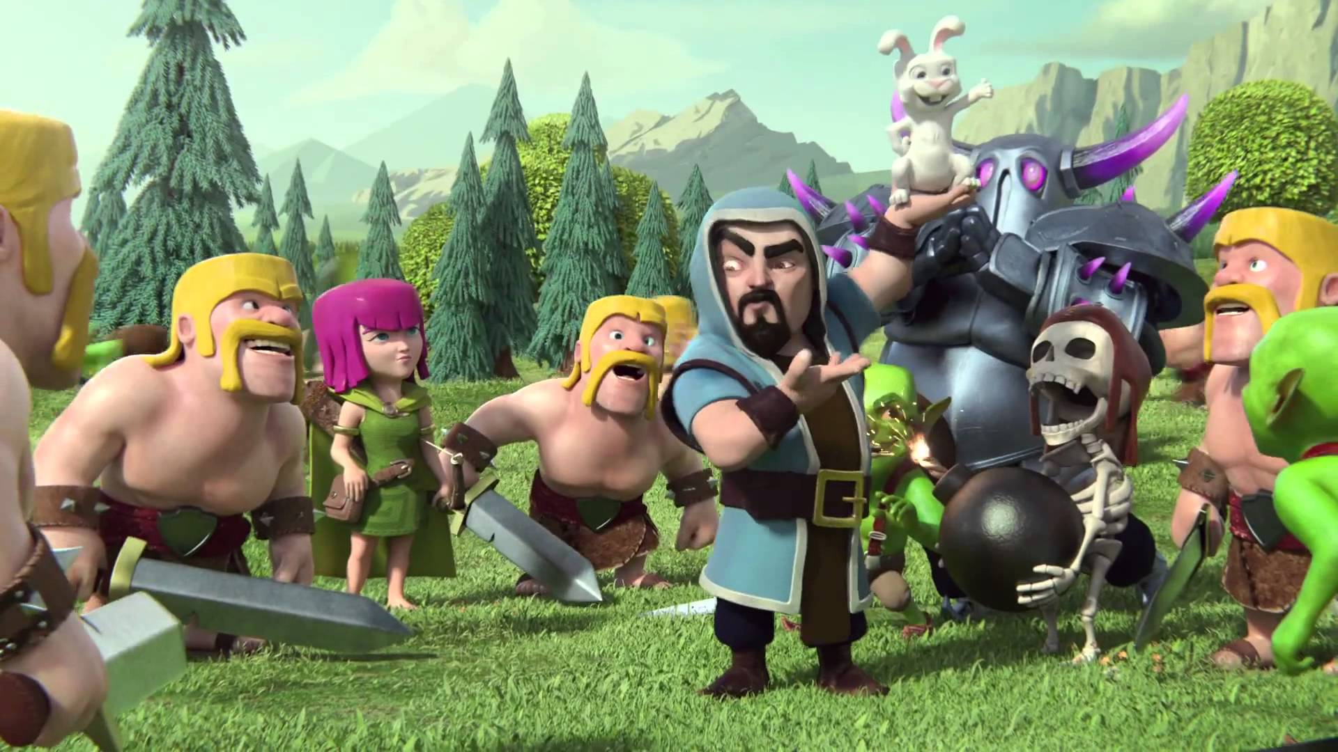 Best Wizard Wallpapers Clash of Clans 1920x1080