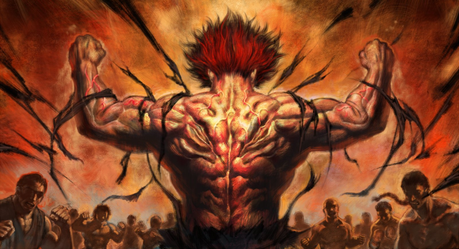 1 Baki the Grappler HD Wallpapers Background Images   Wallpaper 1600x869