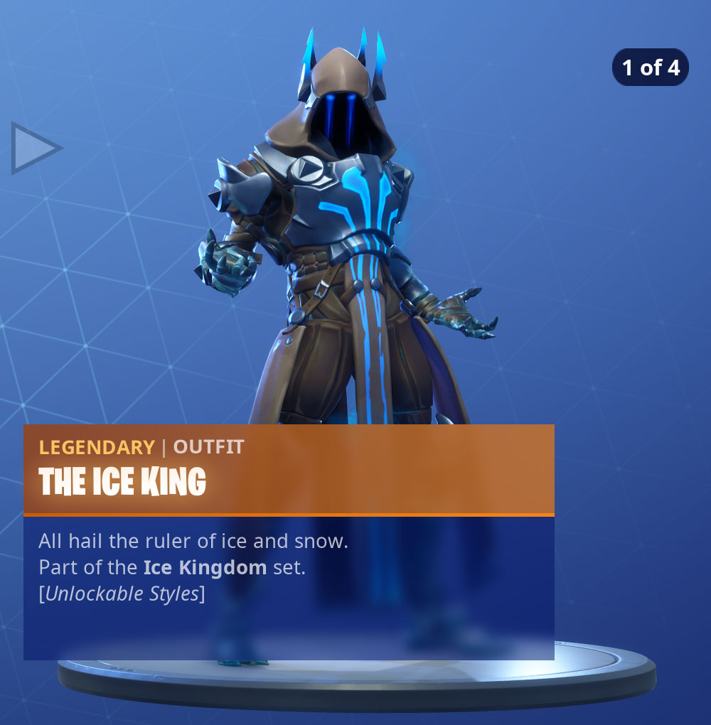 Fortnite The Ice King Skin   Pro Game Guides 1000x1020