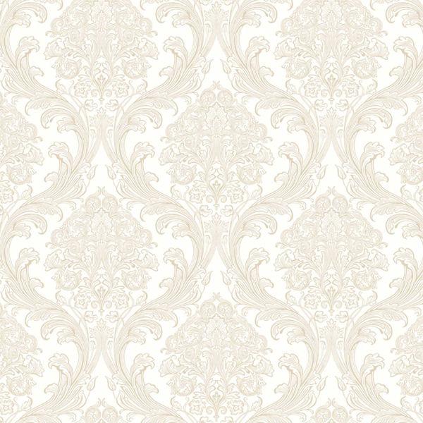 Gold and cream wallpaper wallpapersafari for Cream wallpaper for walls