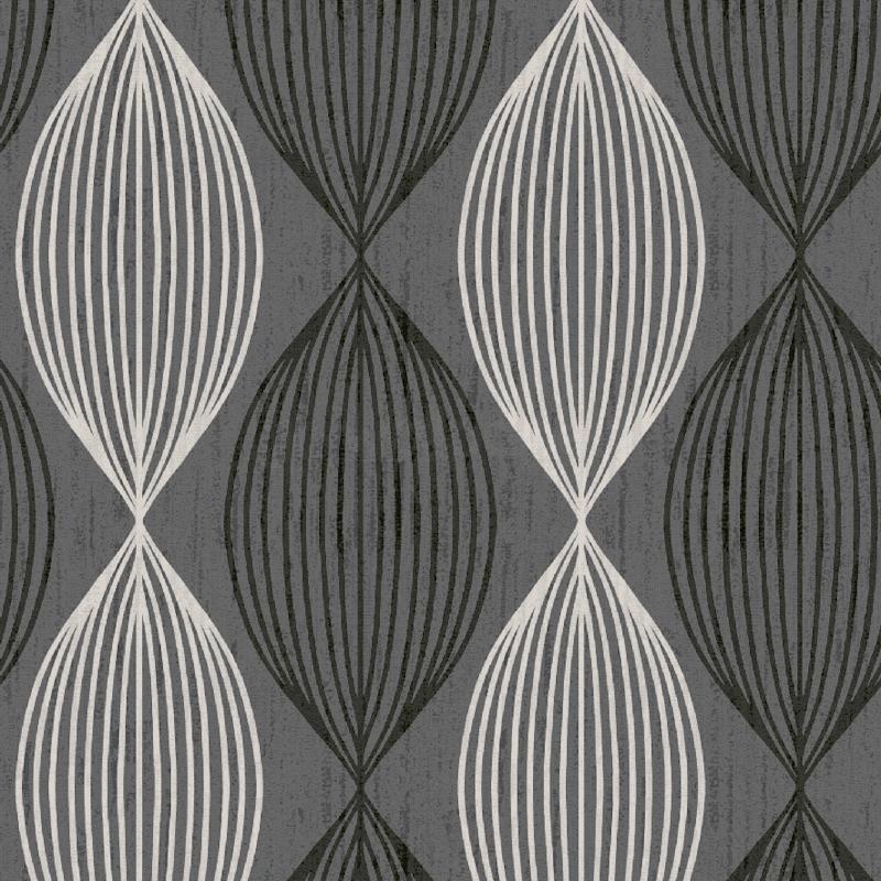 Orbit Grey Black White Contemporary Wallpaper GoWallpaper 800x800