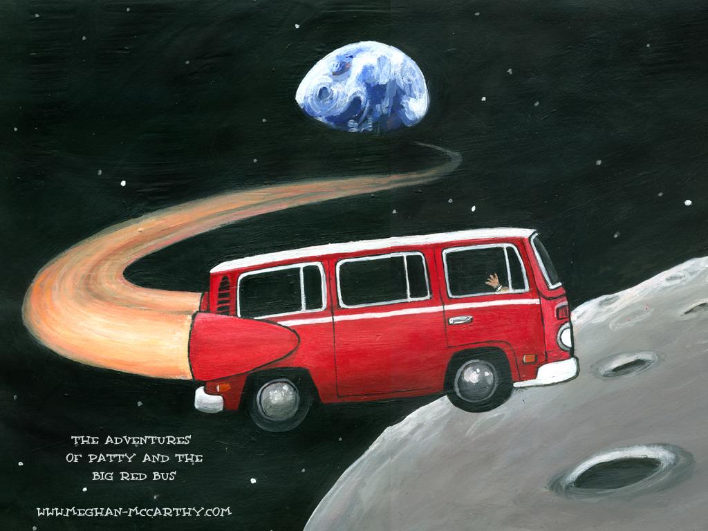 wallpaper   bus   large 1024x768