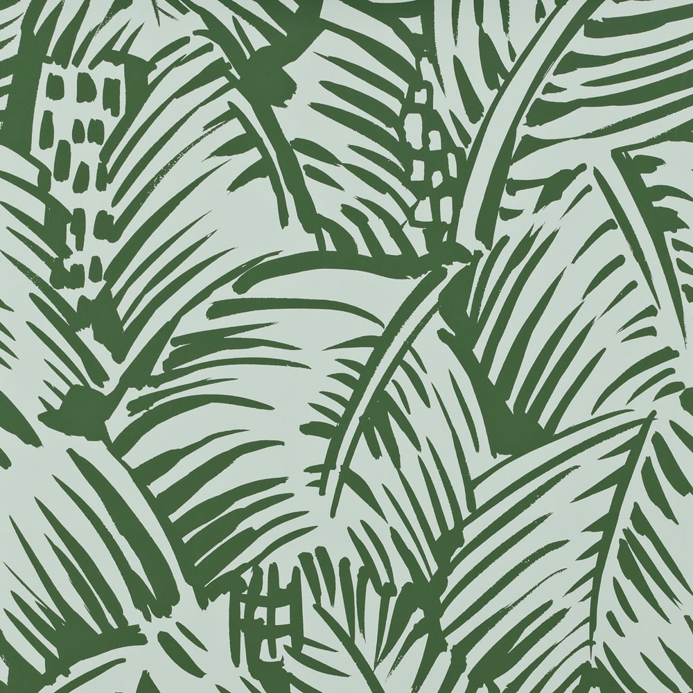 Palm Pattern Hermes Paris Fashion Brand Wallpaper Design 1000x1000