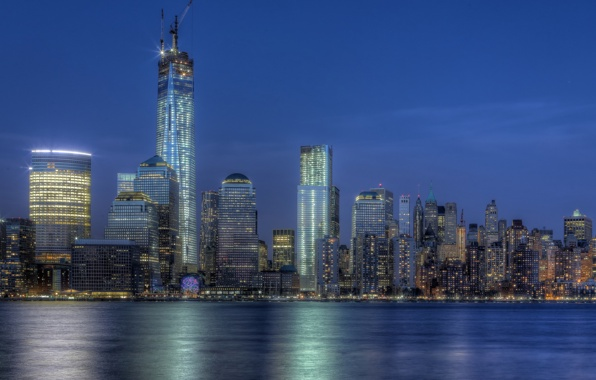 freedom tower manhattan 1 wtc nyc 1 world trade center wallpapers 596x380