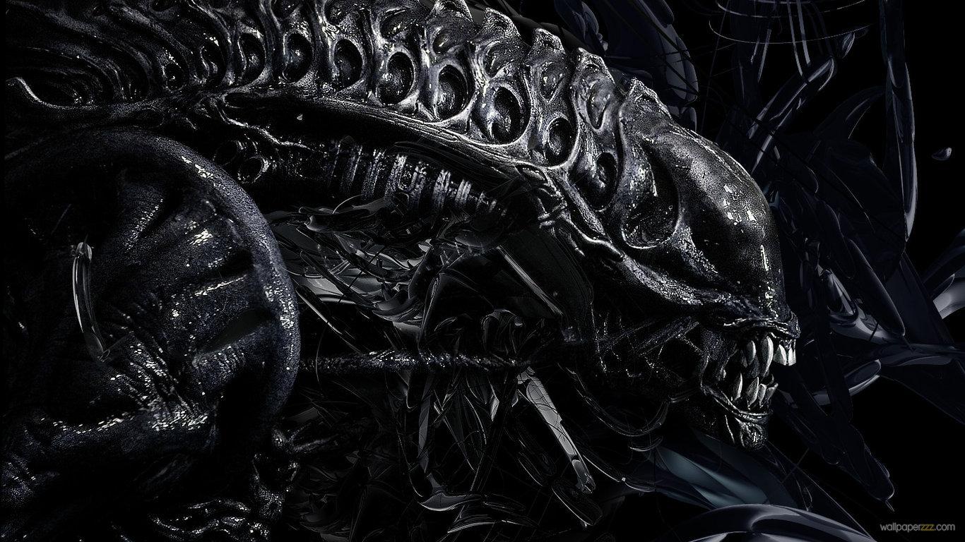 Download Alien HD Wallpaper Wallpaper 1366x768