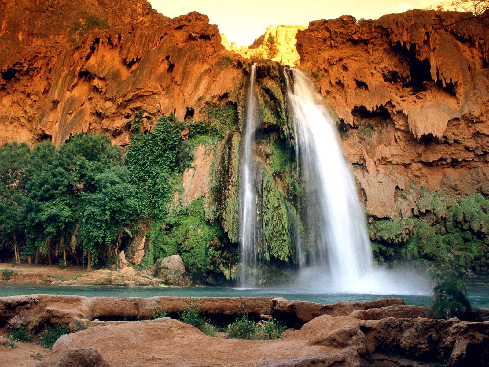 Waterfalls Wallpapers   Download Havasu Falls Arizona Wallpapers 1600x1200