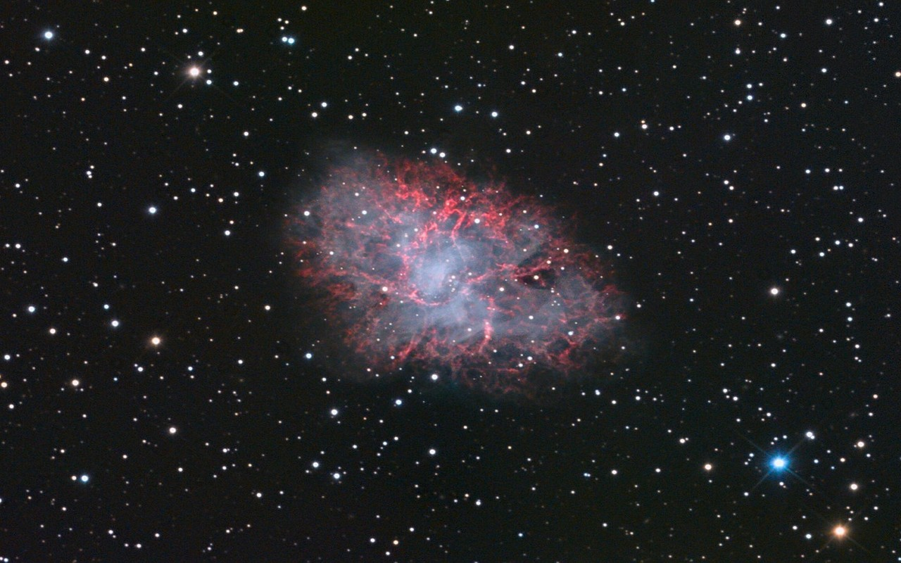 Crab nebula wallpaper 12443 1280x800