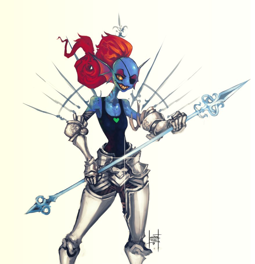 Undyne by xluxifer 879x908