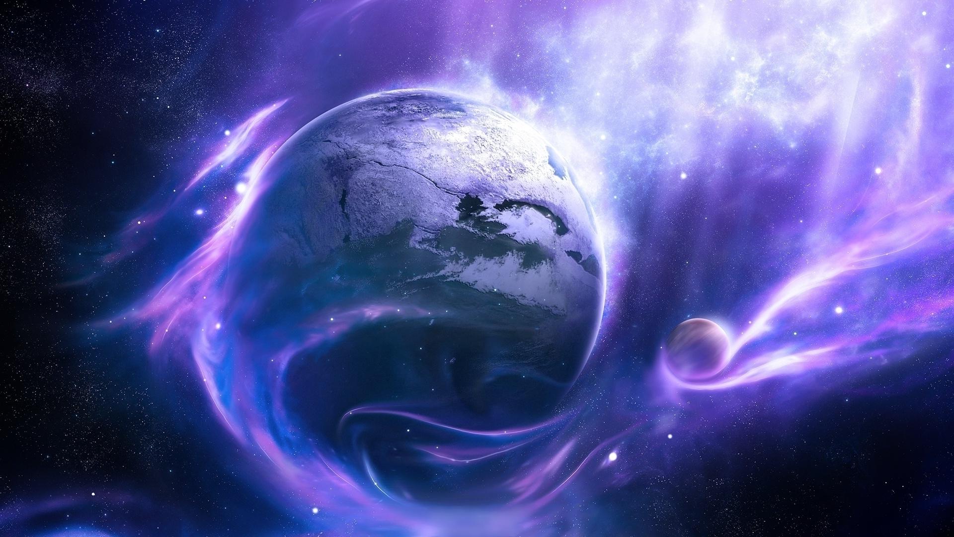 Purple galaxy wallpaper #26081
