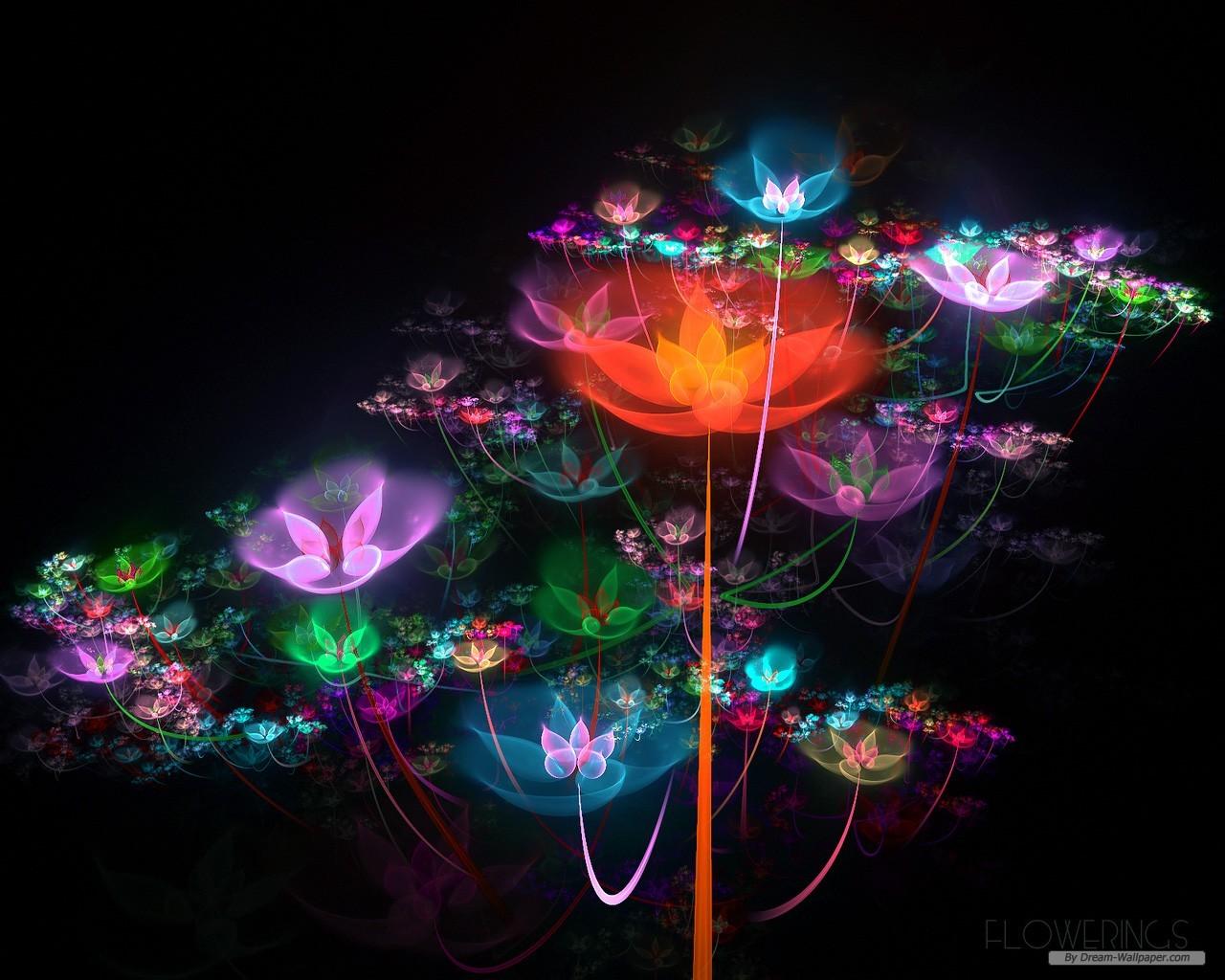 Flower wallpaper   Creative Fractal Art wallpaper   1280x1024 1280x1024