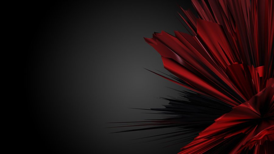 Red Abstract Wallpaper 2 by Black B o x 900x506