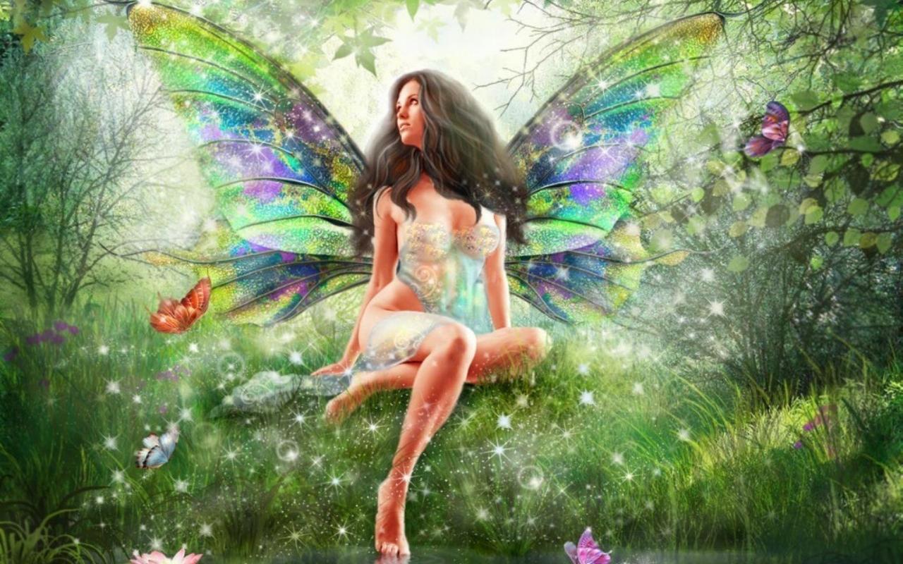 Animated fairy wallpaper wallpapersafari - Free fairy wallpaper and screensavers ...