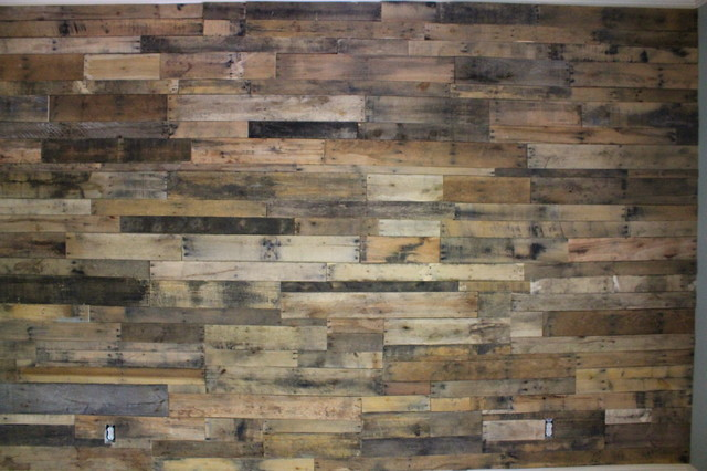 Pallet Wall Wallpaper Wallpapersafari