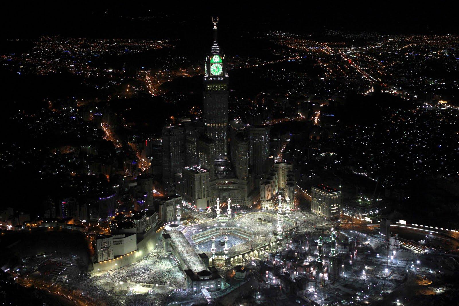 Makkah Royal Clock Tower Hotel Wallpapers 1600x1067