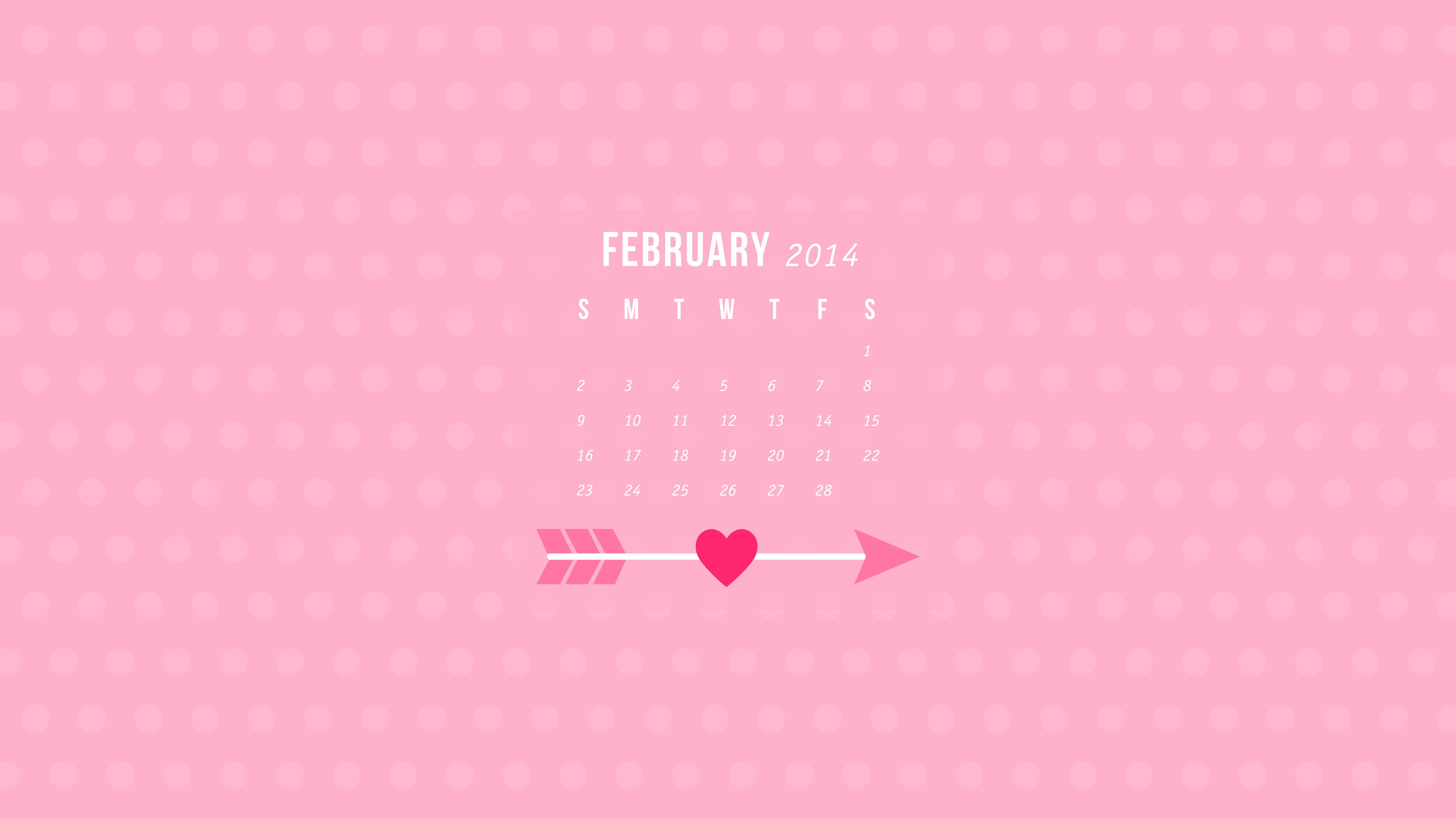 February 2014 Calendar Wallpapers   Sarah Hearts 5333x3000