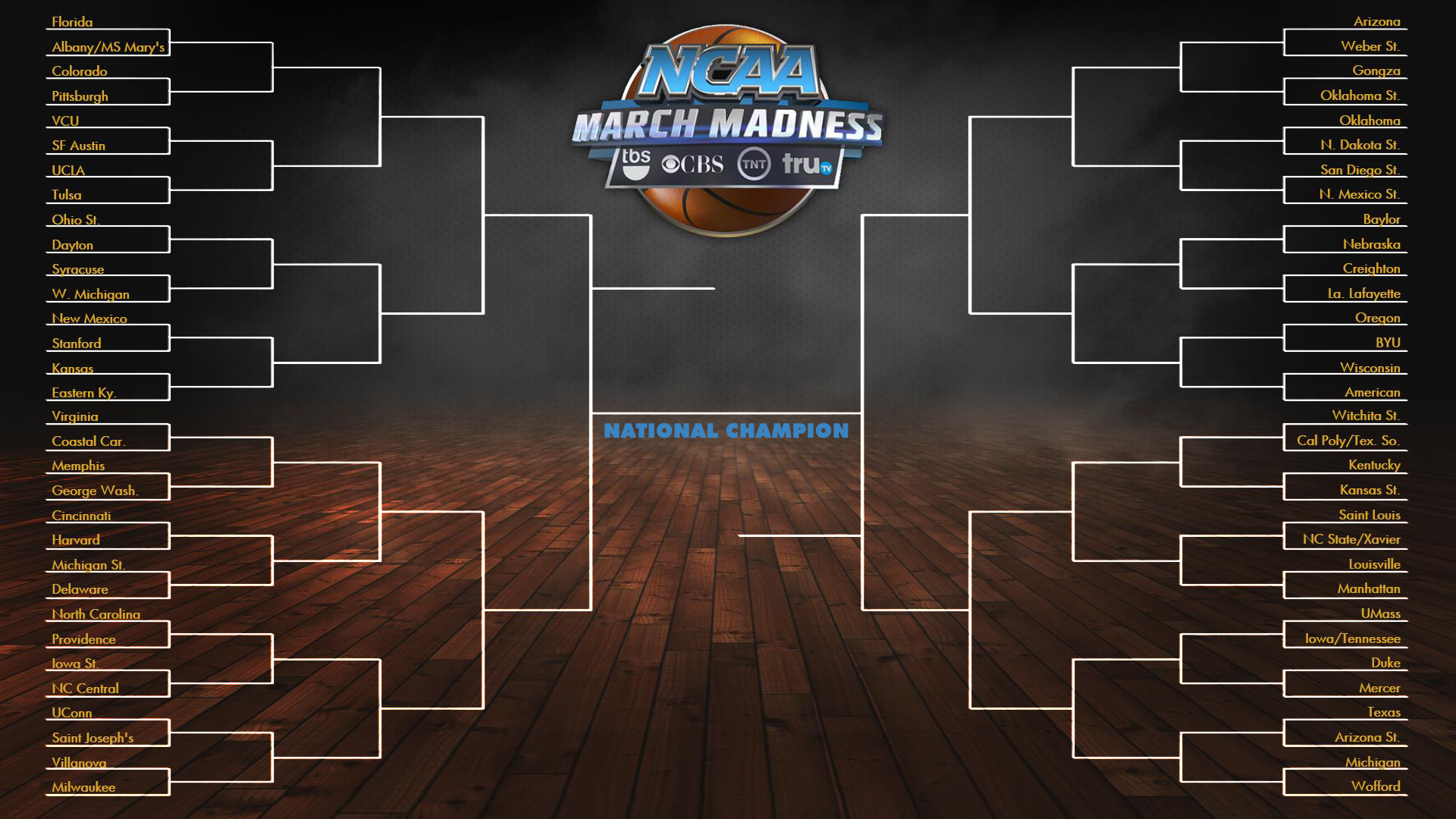March Madness 2014 Wallpaper Image of the march madness 1920x1080