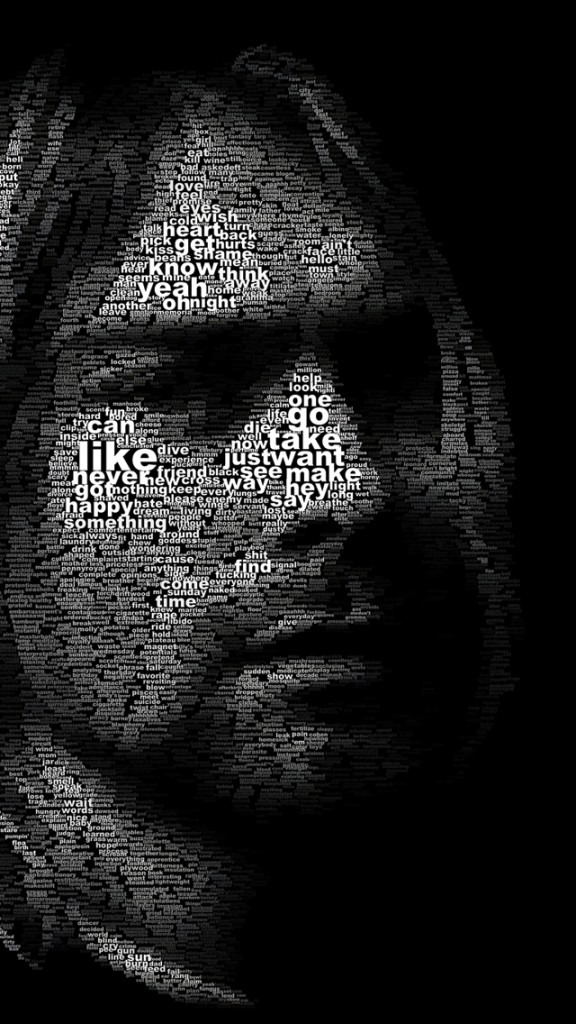 Kurt Cobain Wallpaper for iPhone X 8 7 6   Download on 576x1024