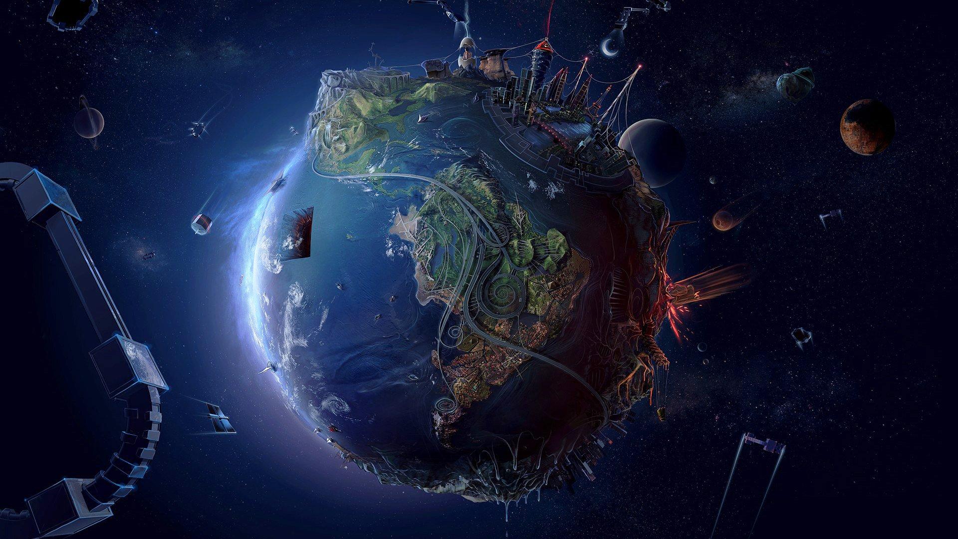 Earth Wallpaper Hd 1080p Wallpapersafari