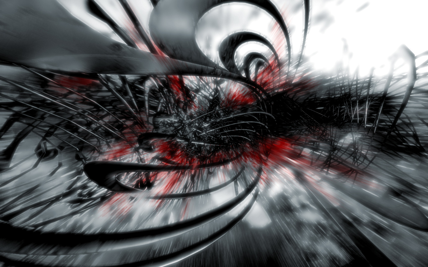 Black Red And White Abstract Wallpaper HD Picture Image Wallsevcom 1440x900