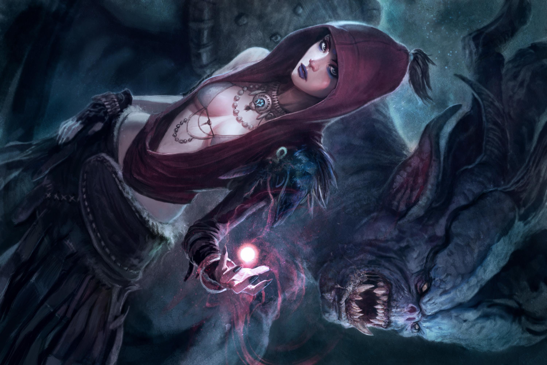Dragon Age Morrigan Wallpaper