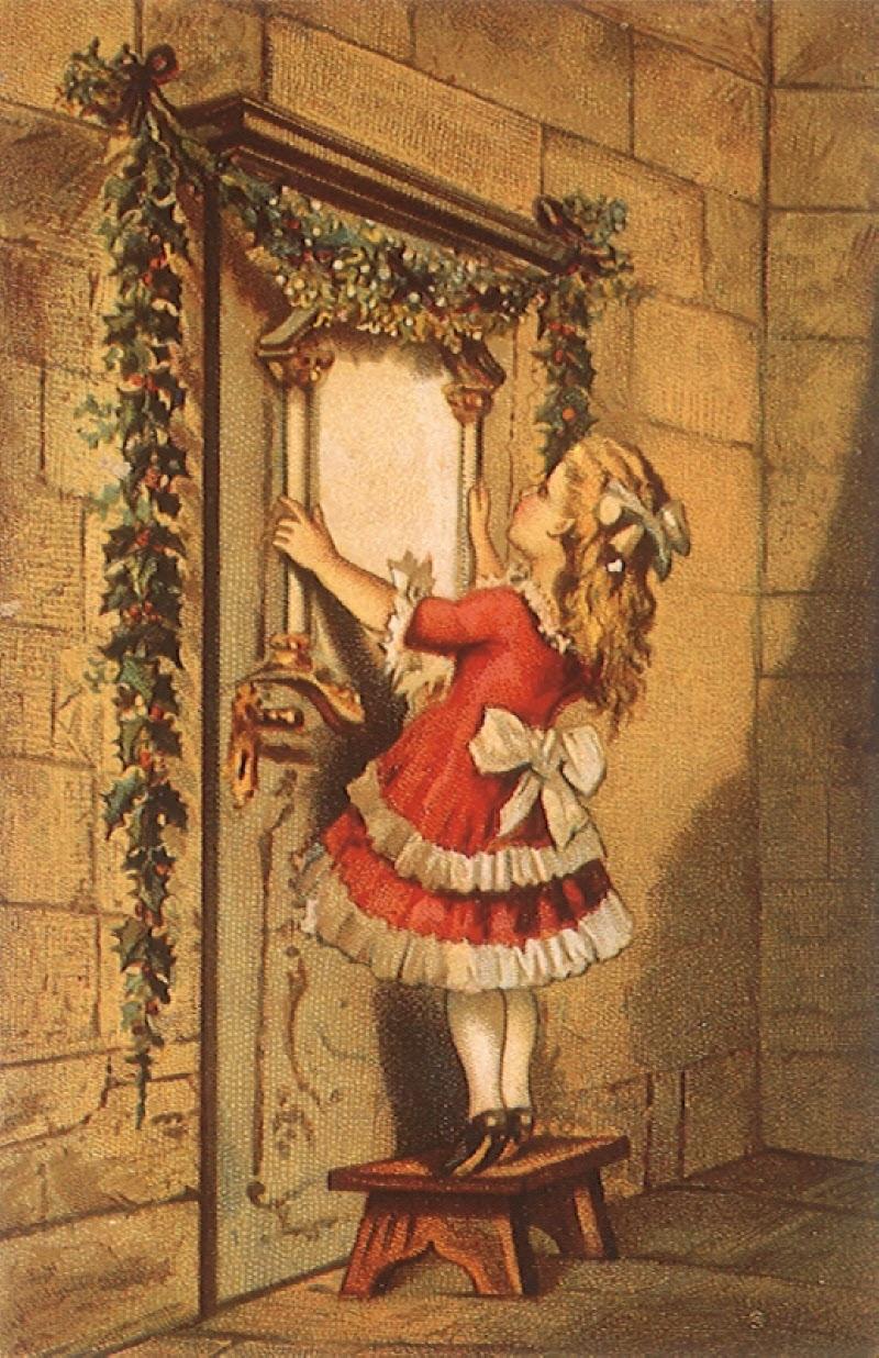 Victorian Christmas Postcards 800x1236