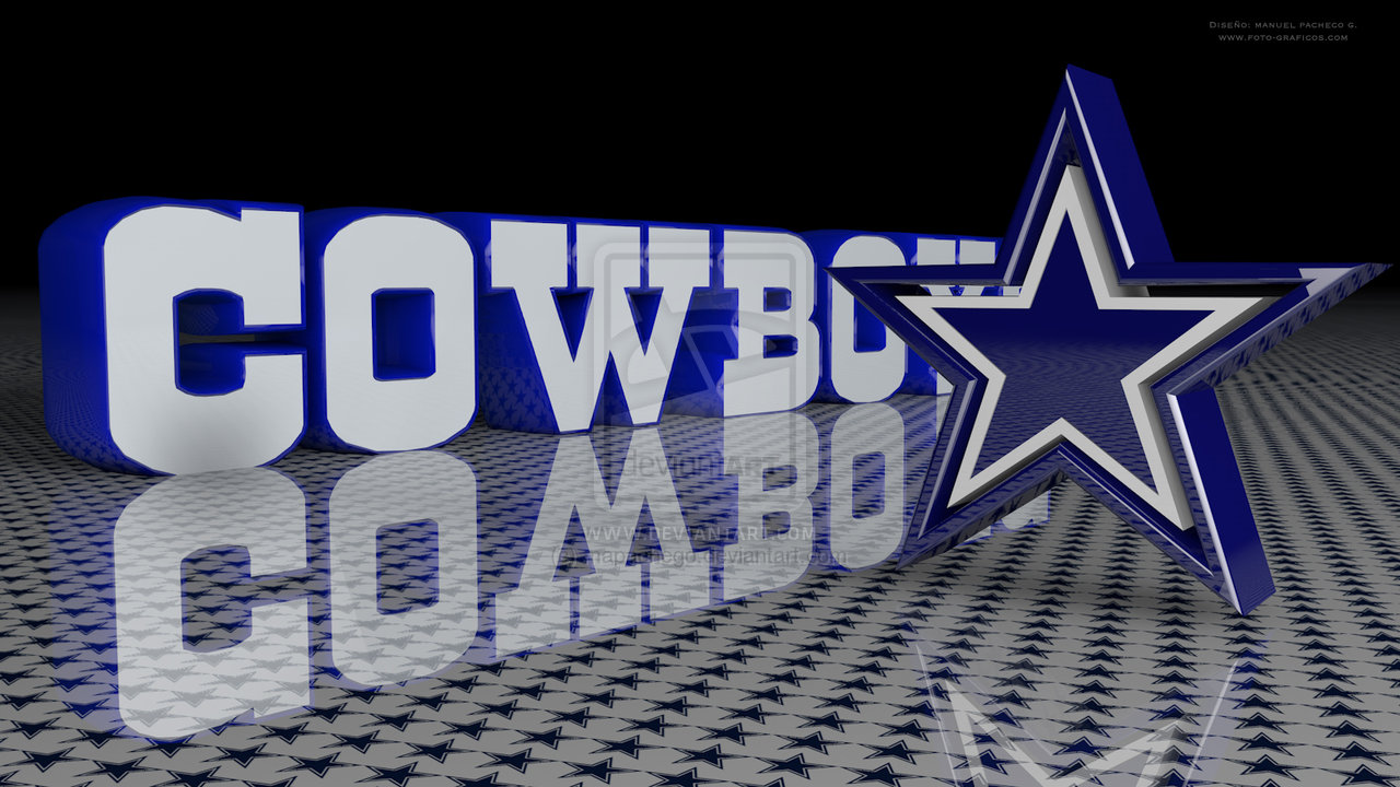 Dallas Cowboys desktop wallpaper by mapachego 1280x720