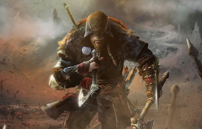 Wallpaper Assassins Creed Viking Ubisoft Montreal 2020 1332x850