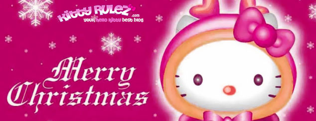hellokitty christmas wallpapers mobiles iphones Cute Christmas 634x244