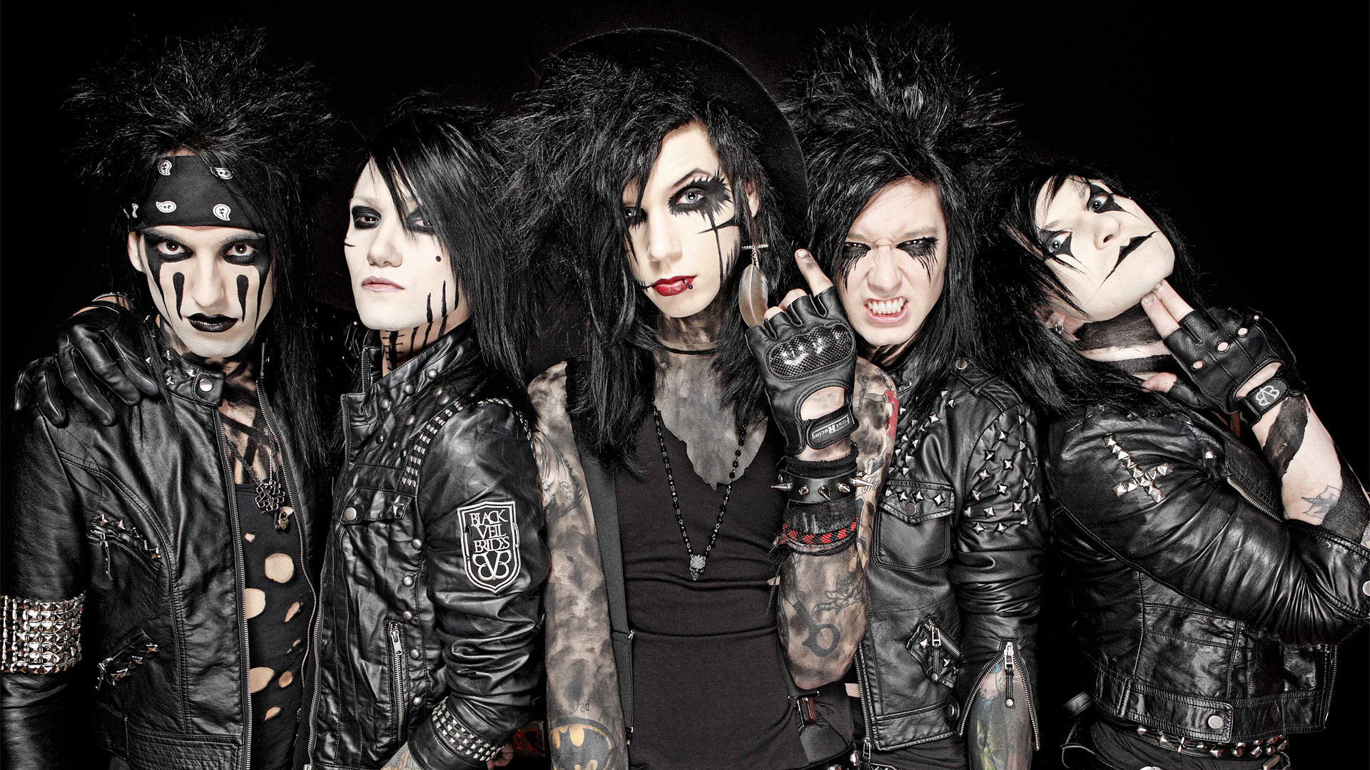 Black Veil Brides backdrop wallpaper 1920x1080