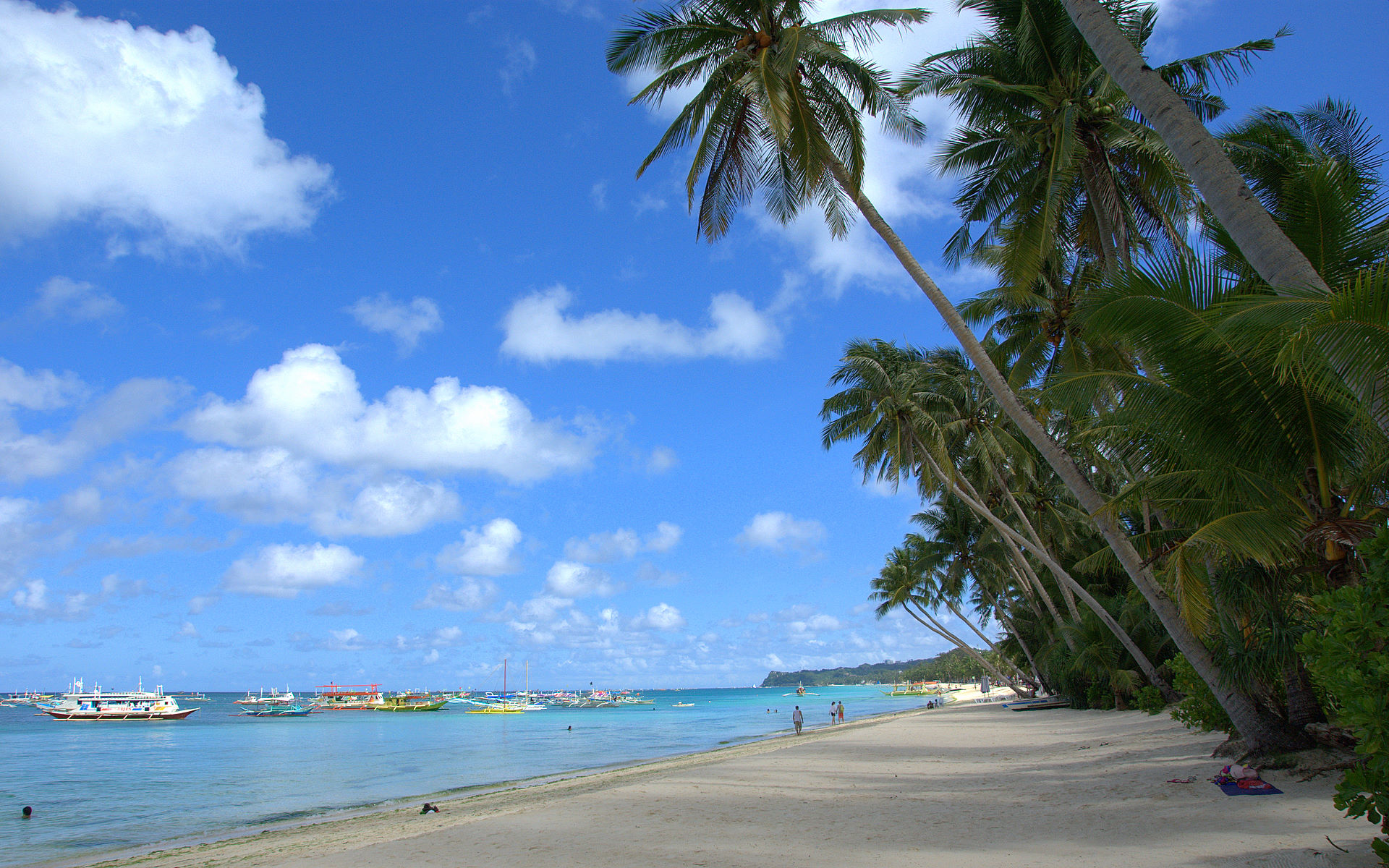 Tropical Island Beach Scenery: High Definition Tropical Wallpapers