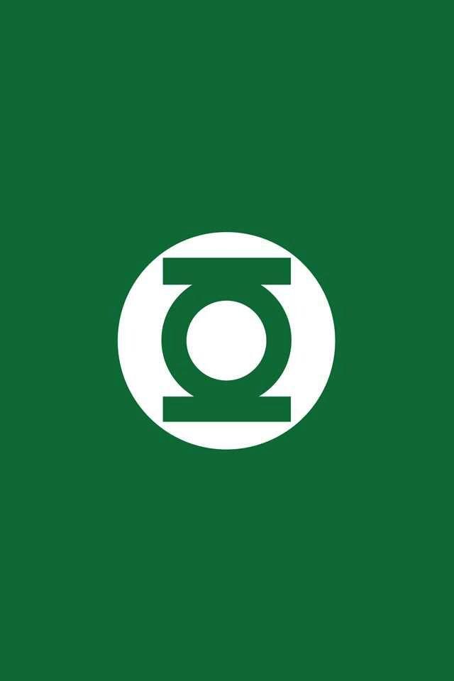 Green lantern symbol Superhero wallpaper Green lantern 640x960