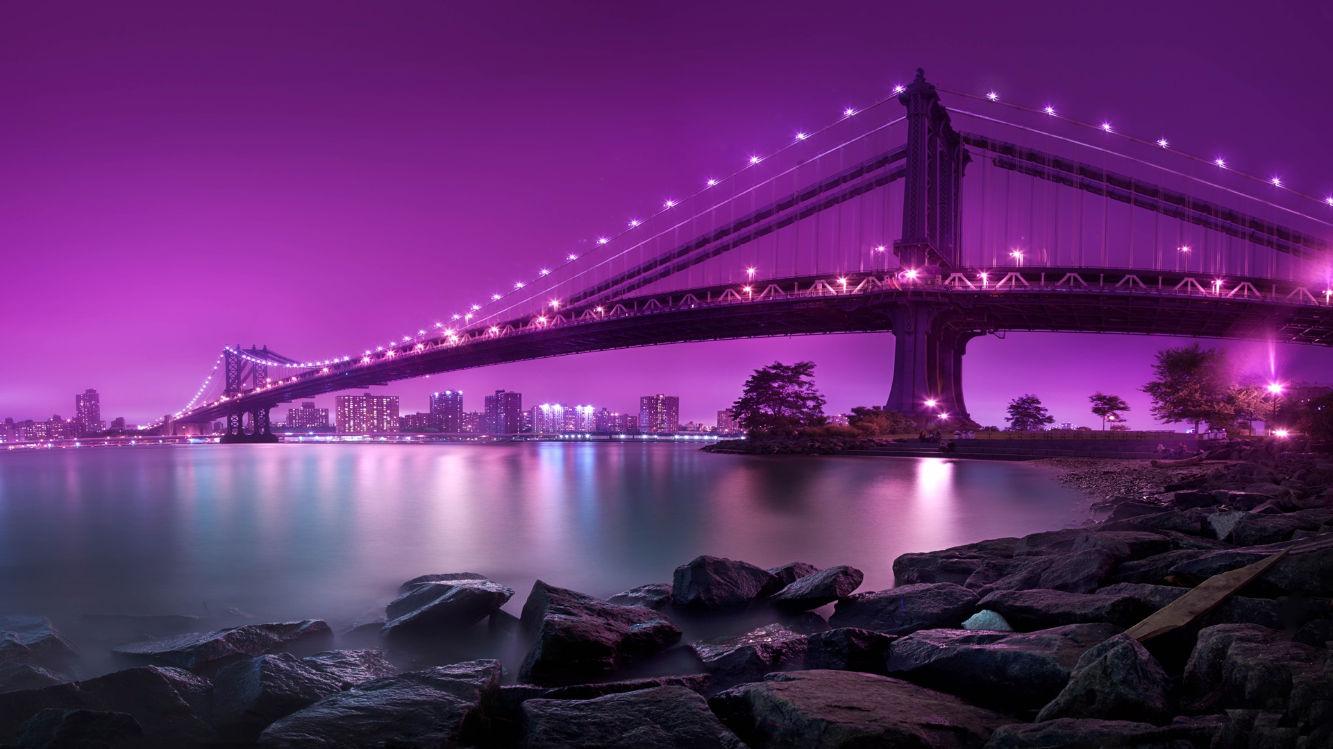 Manhattan Bridge New York City Wallpapers HD Wallpapers 1920x1080