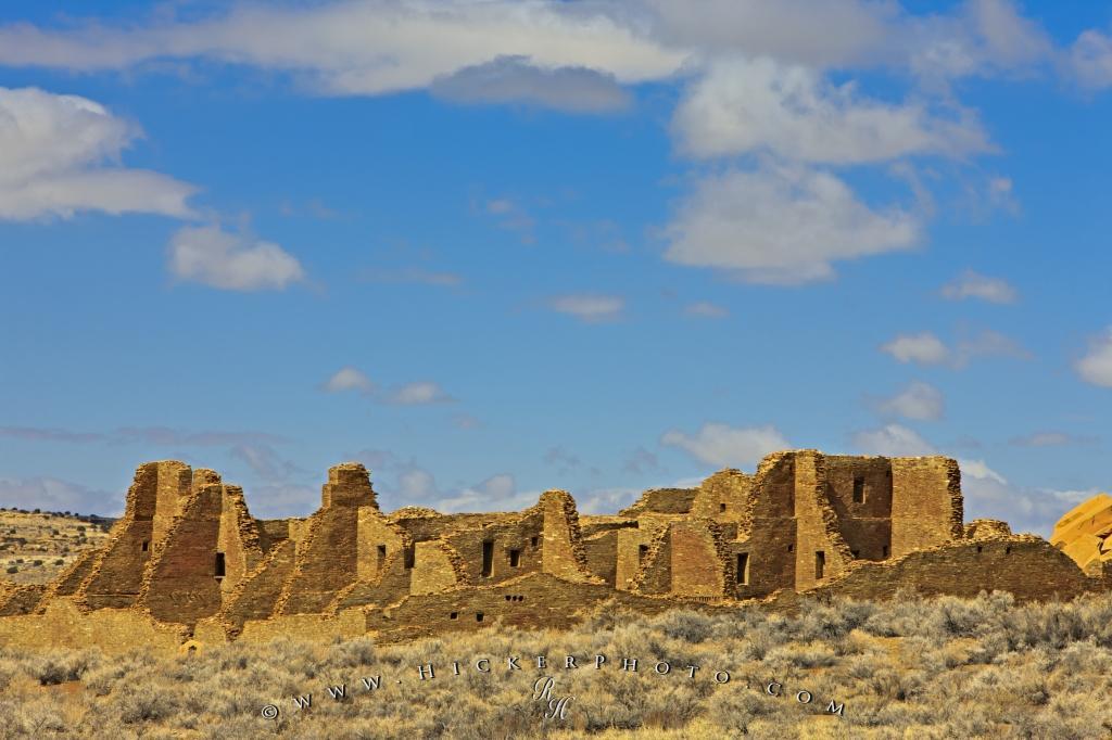 Ancient Ruins Pueblo Bonito New Mexico Photo Information 1024x682
