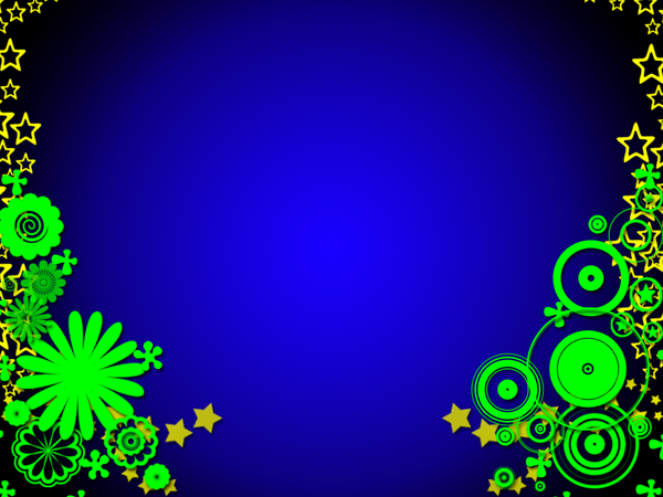 Blue and Gold Wallpaper by gypsy116png 600x450