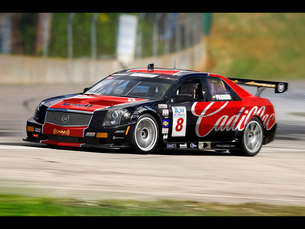 cadillac cts v racing 2007 scca world challenge 1024x768 wallpaper 1024x768