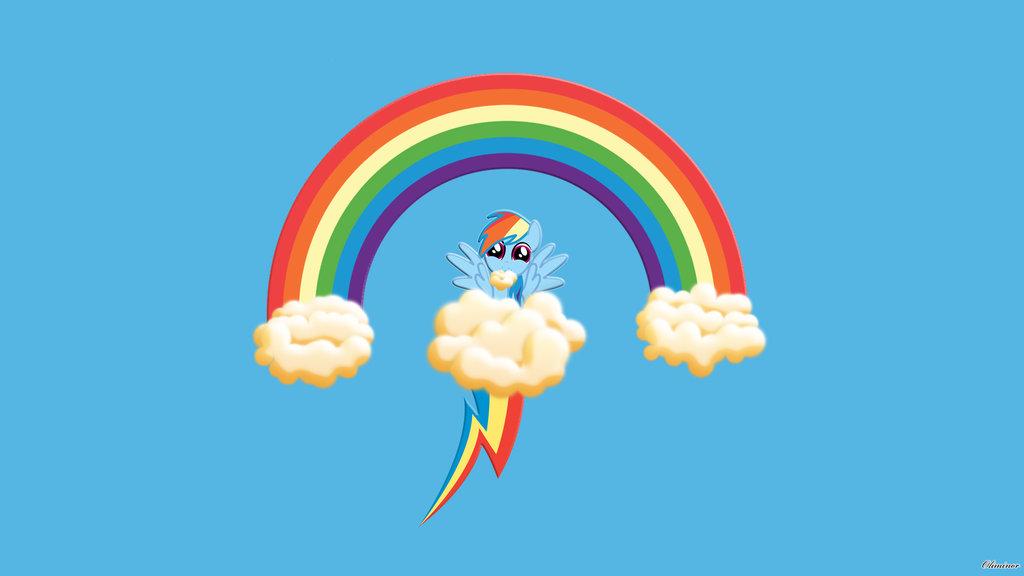 Cute Rainbow Dash Wallpaper - WallpaperSafari Cute Rainbow Wallpapers