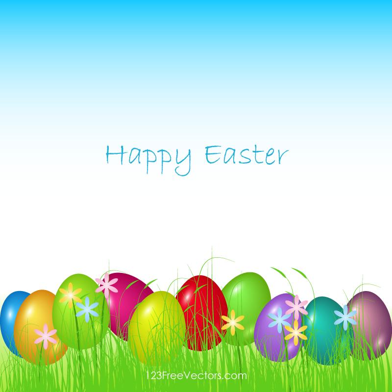 Happy Easter Background Download Vector Art Vectors 800x800