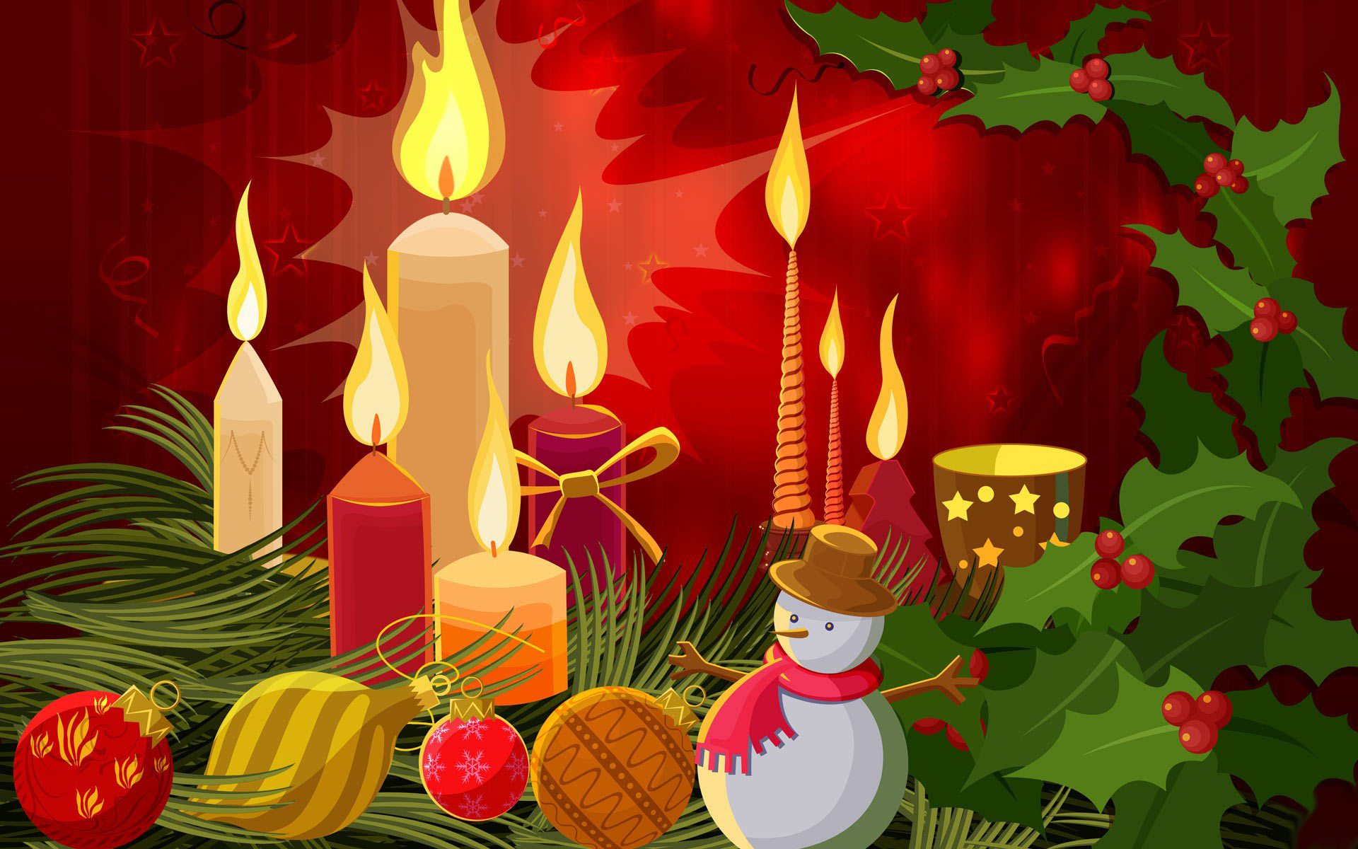 Merry Christmas background Desktop Wallpaper High Quality Wallpapers 1920x1200