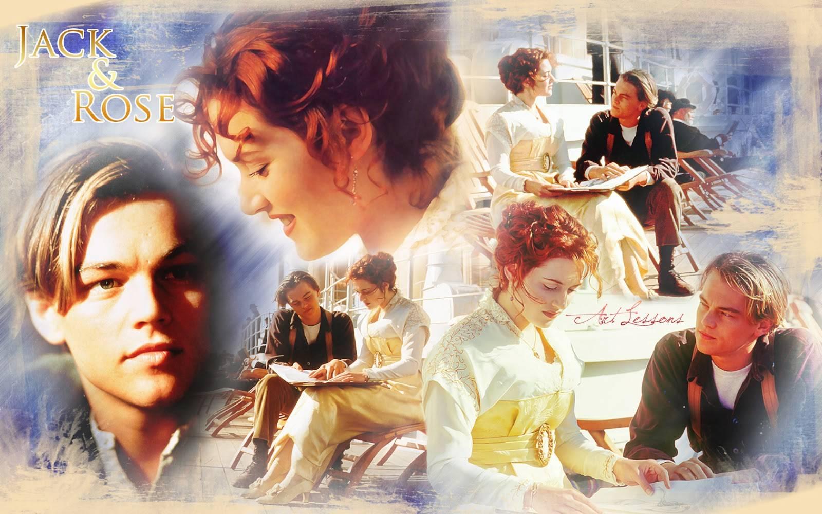 Jack & Rose Wallpaper, A Wallpaper of Jack and Rose