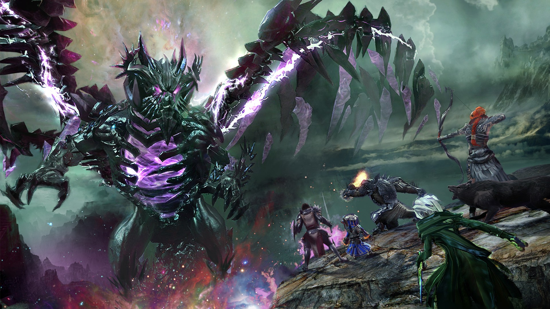 Free Download Video Game Guild Wars 2 Wallpaper 1920x1080 For